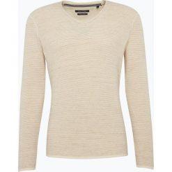 Swetry klasyczne męskie: Marc O'Polo – Sweter męski, beżowy