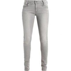 GStar DSTAQ 5PKT MID SKINNY  Jeans Skinny Fit tricia grey superstretch. Szare jeansy damskie marki G-Star. W wyprzedaży za 375,20 zł.