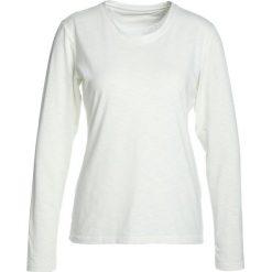 Schöffel LONGSLEEVE LA MOLINA Koszulka sportowa white. Białe topy sportowe damskie Schöffel, z elastanu. Za 229,00 zł.