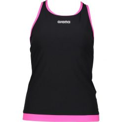Bluzki sportowe damskie: Koszulka kąpielowa w kolorze czarno-różowym