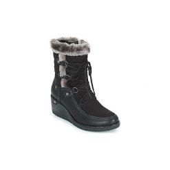 Śniegowce Refresh  TATARA. Czarne buty zimowe damskie marki Cropp. Za 233,10 zł.