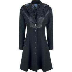 Płaszcze damskie pastelowe: Harry Potter Deathly Hallows Coat Płaszcz damski czarny