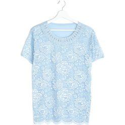 Bluzki asymetryczne: Jasnoniebieska Bluzka Important