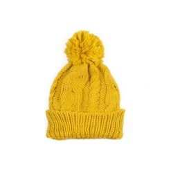 Czapka damska Winter comfort żółta. Żółte czapki zimowe damskie Art of Polo. Za 28,94 zł.