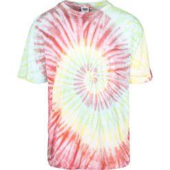 Urban Classics Spiral Tie Dye Pocket Tee T-Shirt czerwony/żółty/zielony. Niebieskie t-shirty męskie marki Urban Classics, l, z okrągłym kołnierzem. Za 42,90 zł.