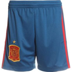 Adidas Performance FEF SPAIN Krótkie spodenki sportowe triblu/red/bogold. Niebieskie spodenki chłopięce adidas Performance, z materiału, sportowe. Za 149,00 zł.