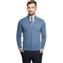 Sweter onley stójka niebieski. Szare swetry klasyczne męskie marki Recman, m, z długim rękawem. Za 249,00 zł.