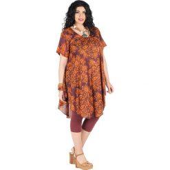 Odzież damska: Sukienka w kolorze czerwono-pomarańczowym