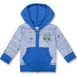 Odzież niemowlęca: Bluza w kolorze niebiesko-białym