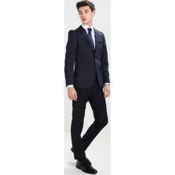 Burton Menswear London SLIM POW Marynarka garniturowa blue. Niebieskie marynarki męskie slim fit marki Burton Menswear London, z materiału. Za 459,00 zł.