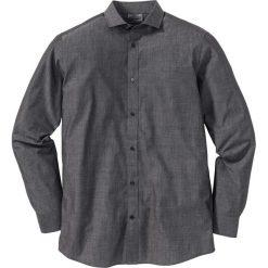 Koszule męskie na spinki: Koszula Regular Fit bonprix ciemnoszary