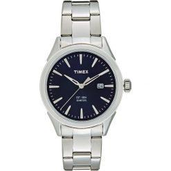 Timex CHESAPEAKE Zegarek blue/silvercoloured. Zielone zegarki męskie Timex. W wyprzedaży za 254,15 zł.