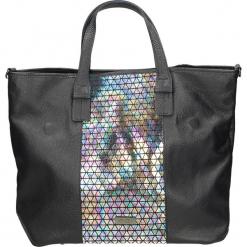 Torba - A-7140-M D BL. Niebieskie torebki klasyczne damskie marki Venezia, ze skóry. Za 199,00 zł.
