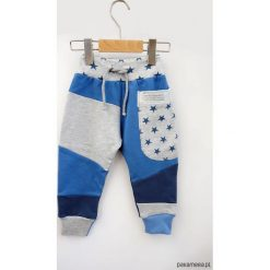 Spodnie męskie: PATCH PANTS spodnie 74 - 98 cm Gwiazdy