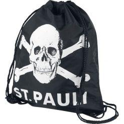 St. Pauli Totenkopf Torba treningowa czarny. Czarne torebki klasyczne damskie St. Pauli. Za 42,90 zł.