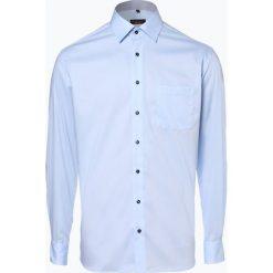 Eterna Modern Fit - Koszula męska łatwa w prasowaniu, niebieski. Niebieskie koszule męskie non-iron marki Eterna Modern Fit, m, z bawełny, z klasycznym kołnierzykiem. Za 199,95 zł.