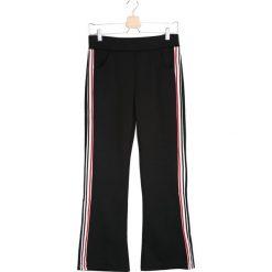 Spodnie damskie: Czarne Spodnie Dresowe In Real Life