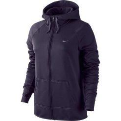 Bluzy damskie: Nike Bluza damska Therma All Time FZ Hoody fioletowa r. S (683656 524)