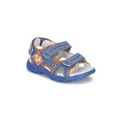 Sandały Dziecko  Chicco  CALTON. Niebieskie sandały chłopięce Chicco. Za 159,20 zł.