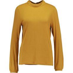 Bluzki asymetryczne: Soaked in Luxury DROP  Bluzka z długim rękawem mustard wood