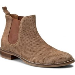 Sztyblety GINO ROSSI - Nevia DSG928-Q20-JZ00-0100-0 18. Brązowe buty zimowe damskie marki Gino Rossi, ze skóry, na obcasie. W wyprzedaży za 279,00 zł.