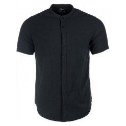 Koszule męskie na spinki: S.Oliver Koszula Męska M Czarny
