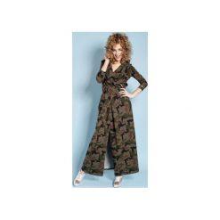 Sukienka Rachel Maxi - Moro. Brązowe długie sukienki marki Mohito, l, z kopertowym dekoltem, kopertowe. Za 279,00 zł.