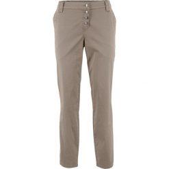 Spodnie chino Boyfriend bonprix jasnooliwkowy. Zielone chinosy damskie bonprix. Za 109,99 zł.