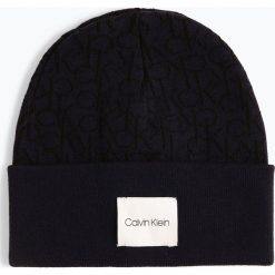 Calvin Klein - Czapka męska, niebieski. Niebieskie czapki męskie Calvin Klein, z bawełny. Za 179,95 zł.