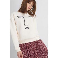 Odzież damska: Bluza z nadrukiem