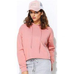 Bluzy damskie: Różowa Bluza Wooble