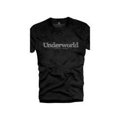 T-shirt UNDERWORLD Organic Cotton Since 1979. Szare t-shirty męskie z nadrukiem marki Underworld, m, z bawełny. Za 69,99 zł.