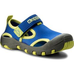 Sandały chłopięce: Sandały KAPPA - Joy K 260586K Blue/Lime 6033