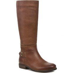 Kozaki TOMMY HILFIGER - Eline 5A EN56817995 Winter Cognac 906. Czarne buty zimowe damskie marki Superfit, z gore-texu, przed kolano, na wysokim obcasie. W wyprzedaży za 519,00 zł.