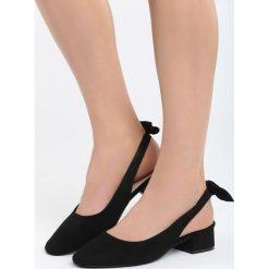 Sandały damskie: Czarne Sandały Way Of Love
