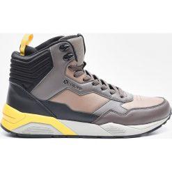 Sportowe buty CHRONIC - Khaki. Brązowe halówki męskie Cropp. W wyprzedaży za 149,99 zł.