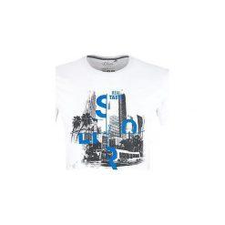 T-shirty męskie z nadrukiem: S.Oliver T-Shirt Męski M, Biały