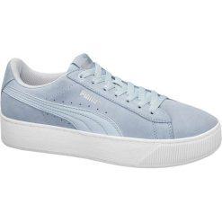 Buty sportowe damskie: buty damskie Puma Vikky Platform SD Puma niebieskie