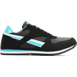Czarno-Niebieskie Buty Sportowe Dark Horse. Czarne buty sportowe chłopięce Born2be, z materiału, z okrągłym noskiem, na sznurówki. Za 49,99 zł.