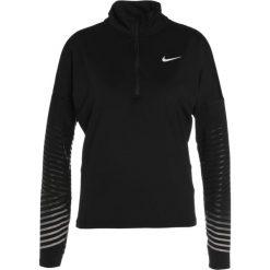 Nike Performance DRY FLASH Koszulka sportowa black/silver. Czarne topy sportowe damskie marki Nike Performance, m, z elastanu, z długim rękawem. W wyprzedaży za 194,25 zł.