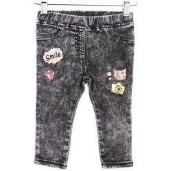 Primigi Jeansy Dziewczęce 92 Czarny. Czarne jeansy dziewczęce Primigi, z jeansu. W wyprzedaży za 89,00 zł.