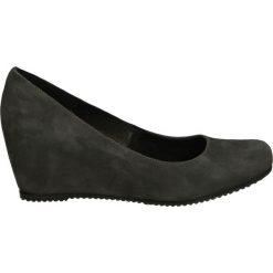 Czółenka - 10534 CAM FLA. Czarne buty ślubne damskie Venezia, ze skóry. Za 179,00 zł.