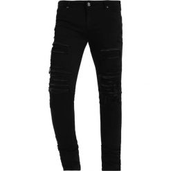 Spodnie męskie: Criminal Damage CAMDEN  Jeansy Slim Fit black