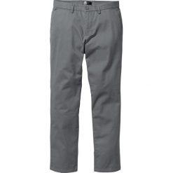 Spodnie chino Regular Fit bonprix dymny szary. Szare chinosy męskie marki bonprix. Za 74,99 zł.