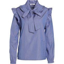 Lovechild THEA Bluzka dark blue. Niebieskie bluzki asymetryczne Lovechild, z bawełny. W wyprzedaży za 377,55 zł.