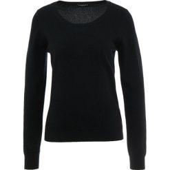 Swetry klasyczne damskie: Repeat CREW Sweter black
