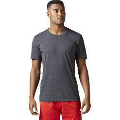Koszulki do fitnessu męskie: KOSZULKA GLOBAL GRAPHIC BLAN BLACK