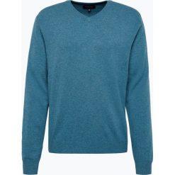 Swetry klasyczne męskie: Andrew James – Sweter męski z czystego kaszmiru, biały