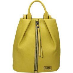 Plecaki damskie: Nobo Plecak damski E2880-C002 żółty