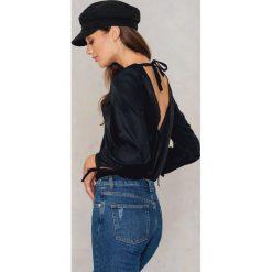Bluzki asymetryczne: Rut&Circle Bluzka Fannie - Black